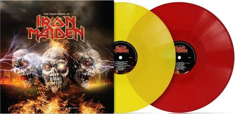 The Many Faces Of Iron Maiden / Various (Ltd 180gm Red & YellowGatefold Vinyl)