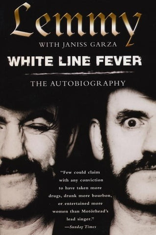 Lemmy: White Line Fever Autobiorgraphy