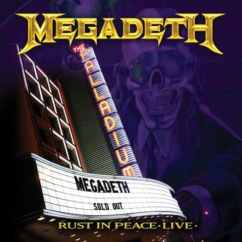 Megadeth Rust in Peace Live CD