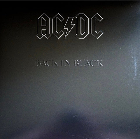 AC/DC Back in Black 180g Vinyl