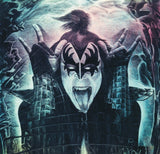Kiss/ Gene Simmons Firestarter 16x20 giclee canvas stretched print.