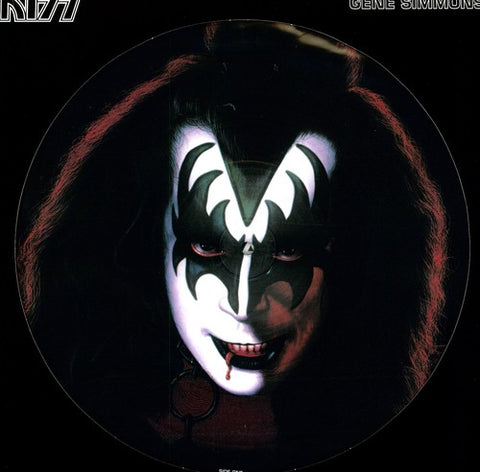 Kiss Gene Simmons (Picture Disc Vinyl LP)