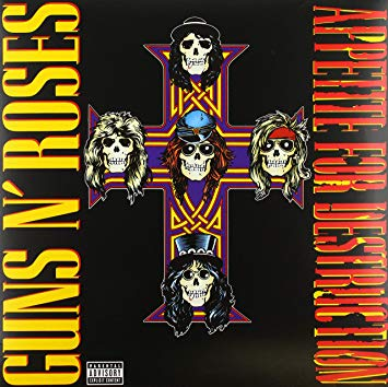 Guns and Roses Appetite For Destruction 180g lp