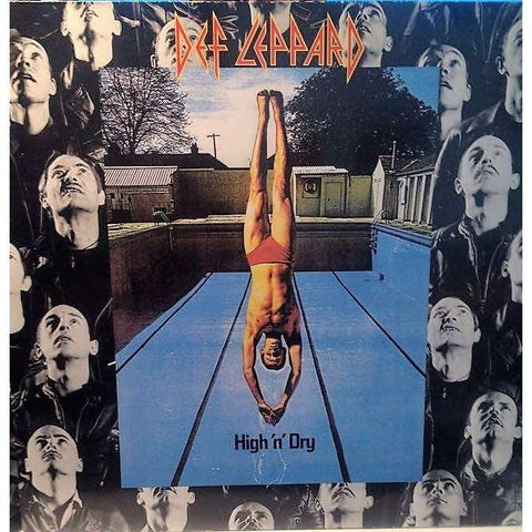 Def Leppard High and Dry 180g Lp