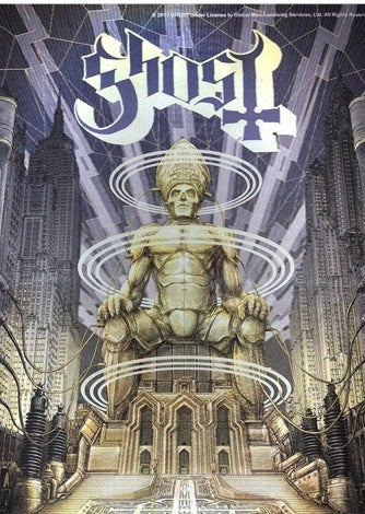 Ghost lenticular Ceremony and Devotion poster