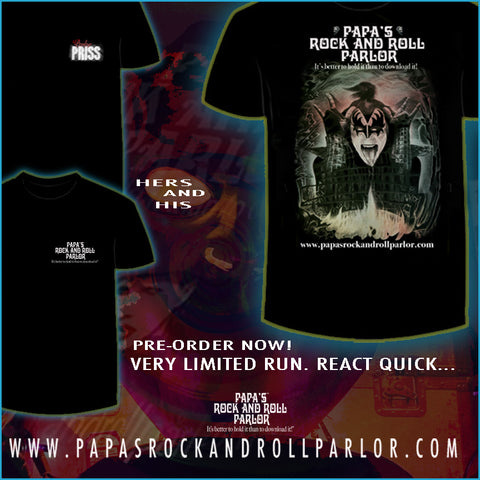 Gene Simmons Official 'Parlor Tee