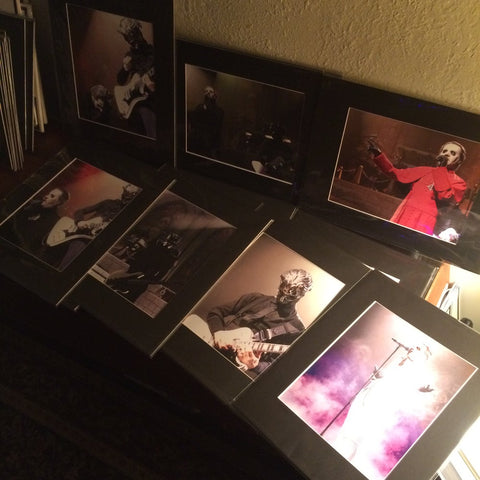 Numbered Ghost Concert Print Photo Set