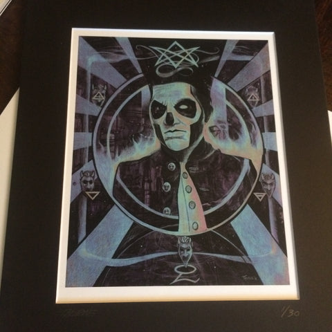 Ghost Papa Emeritus III Hermetic Business Plan (Neon)