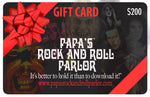 Papa's Rock and Roll Parlor Gift Cards