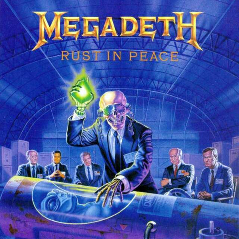 Megadeth Rust in Peace 180g Lp