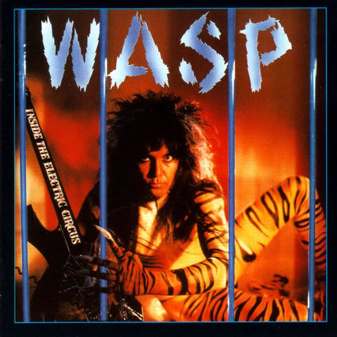 W.A.S.P. Inside The Electric Circus 180g Blue Vinyl (import)