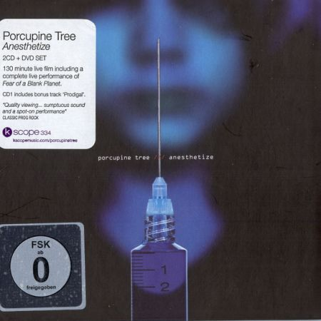 Porcupine Tree Anesthetize Live 2CD/DVD