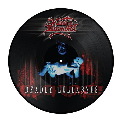 King Diamond Deadly Lullaby's Live Picture Disc 2LP