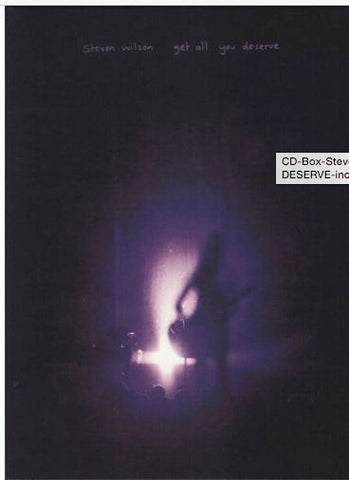 Steven Wilson Live Get All You Deserve DVD