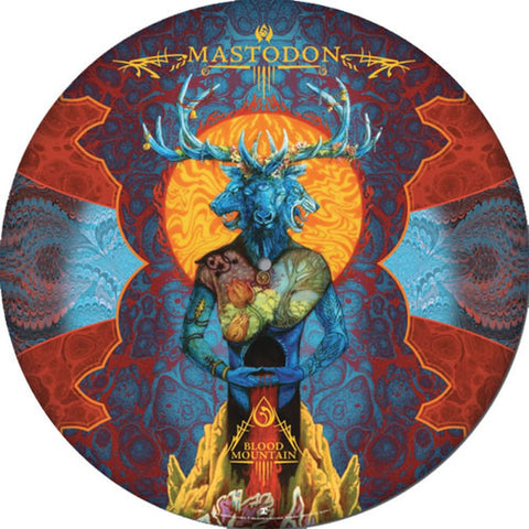 Mastodon Blood Mountain Picture Disc Ltd Ed