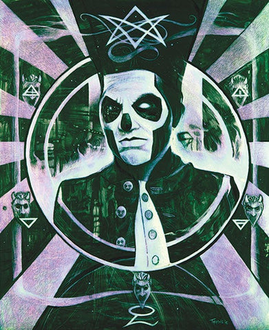 Ghost/Papa Emeritus Print 'Hermetic Business Plan