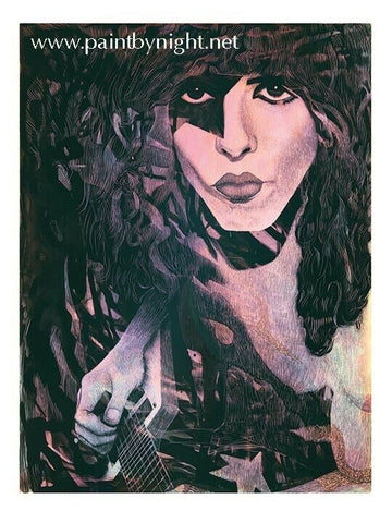 Official 'Parlor Merch Paul Stanley Signed/numbered Print