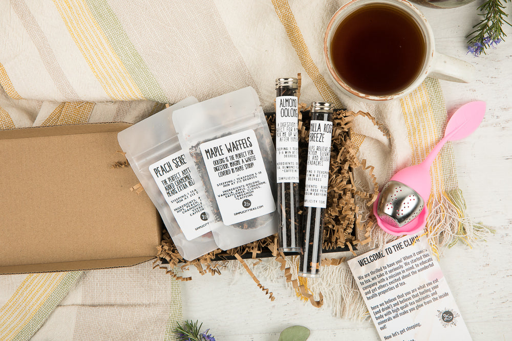 Gift Tea Box One Time Order