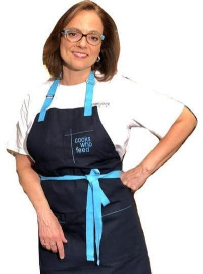 Chef Christine Cushing Apron