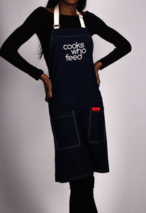 The Recycle Plastic Apron - Cooks Who Feed Canada