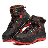 Hercshoes 608 men's Work safety wear-resistant labor insurance keep warm shoes