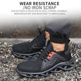 Hercshoes 808 men's Work safety wear-resistant labor insurance shoes
