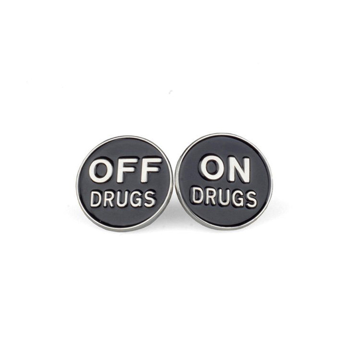 ON/OFF DRUGS PIN SET