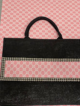 Load image into Gallery viewer, Jute GG pink large Tote