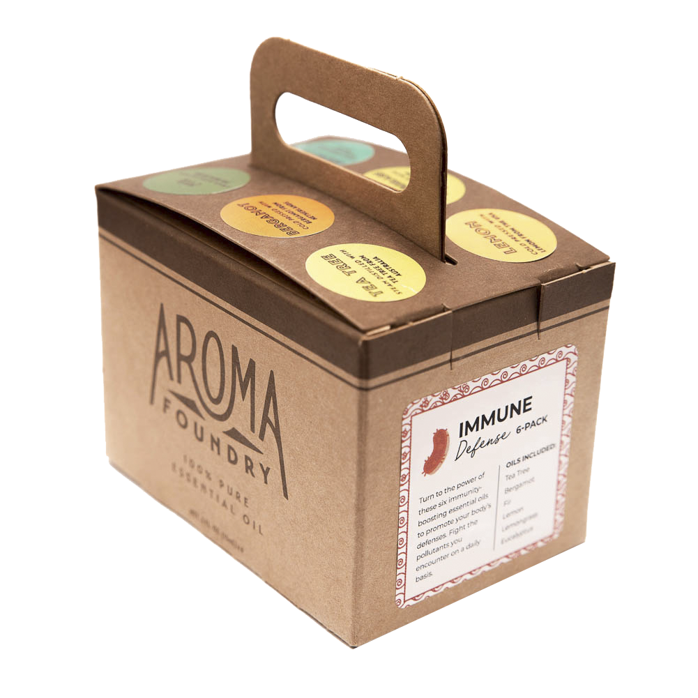 Aroma Foundry Six Pack of Aromatherapy Oils