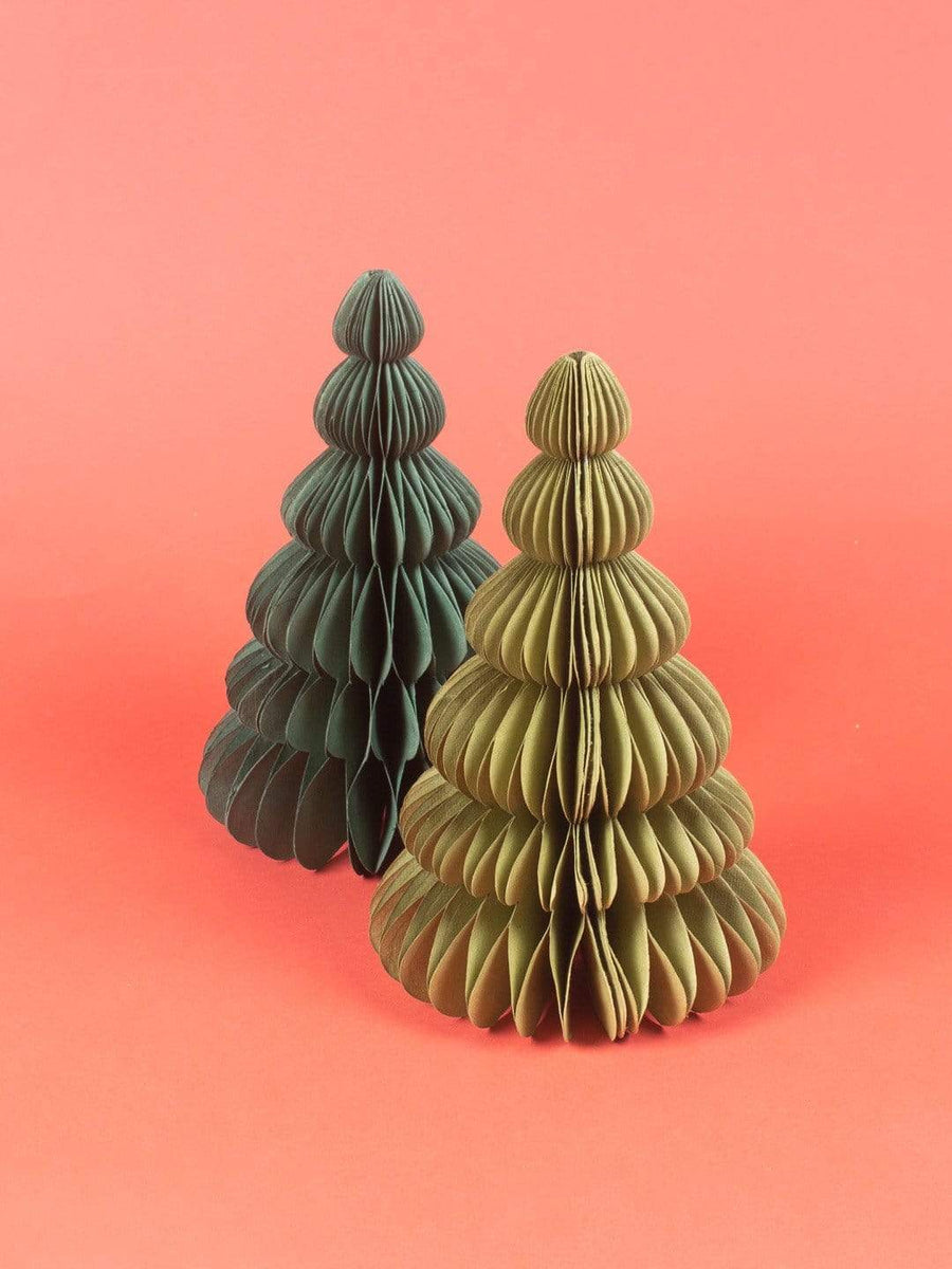 Assorted Christmas Tree - Set of 2 -Large
