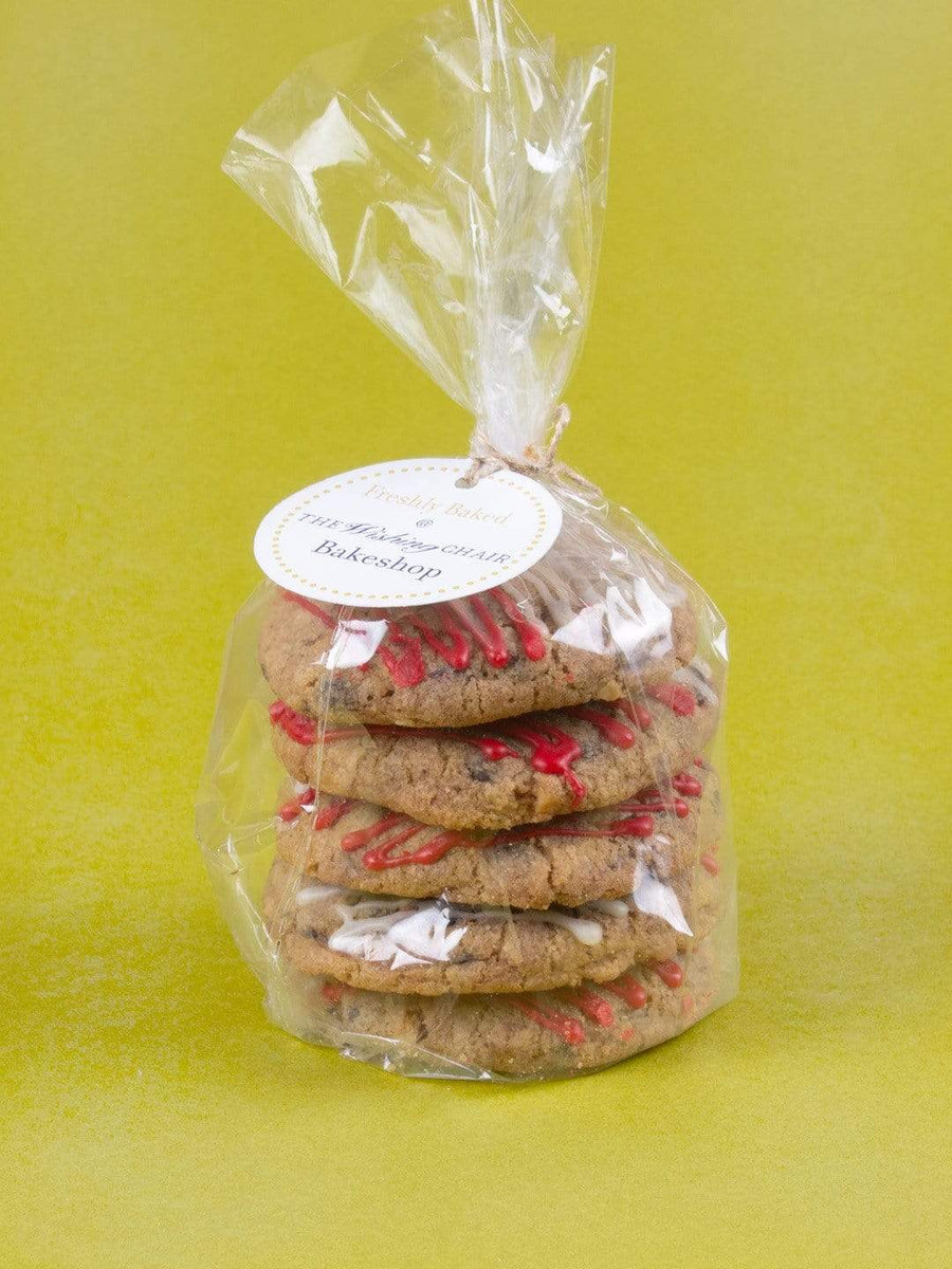 Christmas Chocolate Chip with Peppermint Glaze - Pack of 5