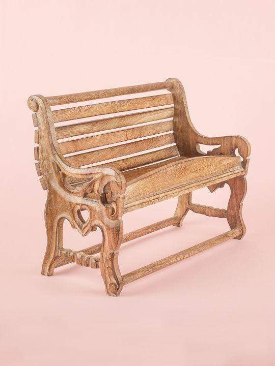 Alice Antique Fancy Bench