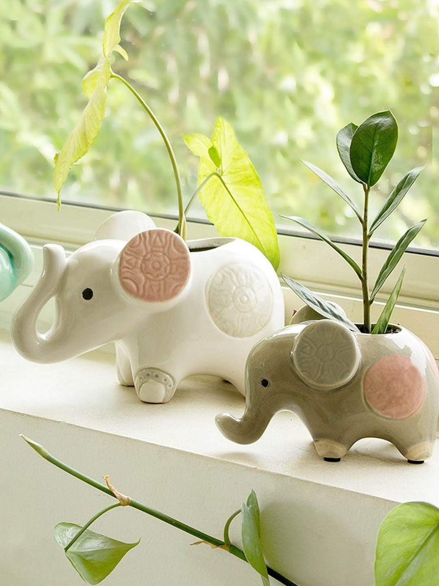 Ella the Elephant Planter