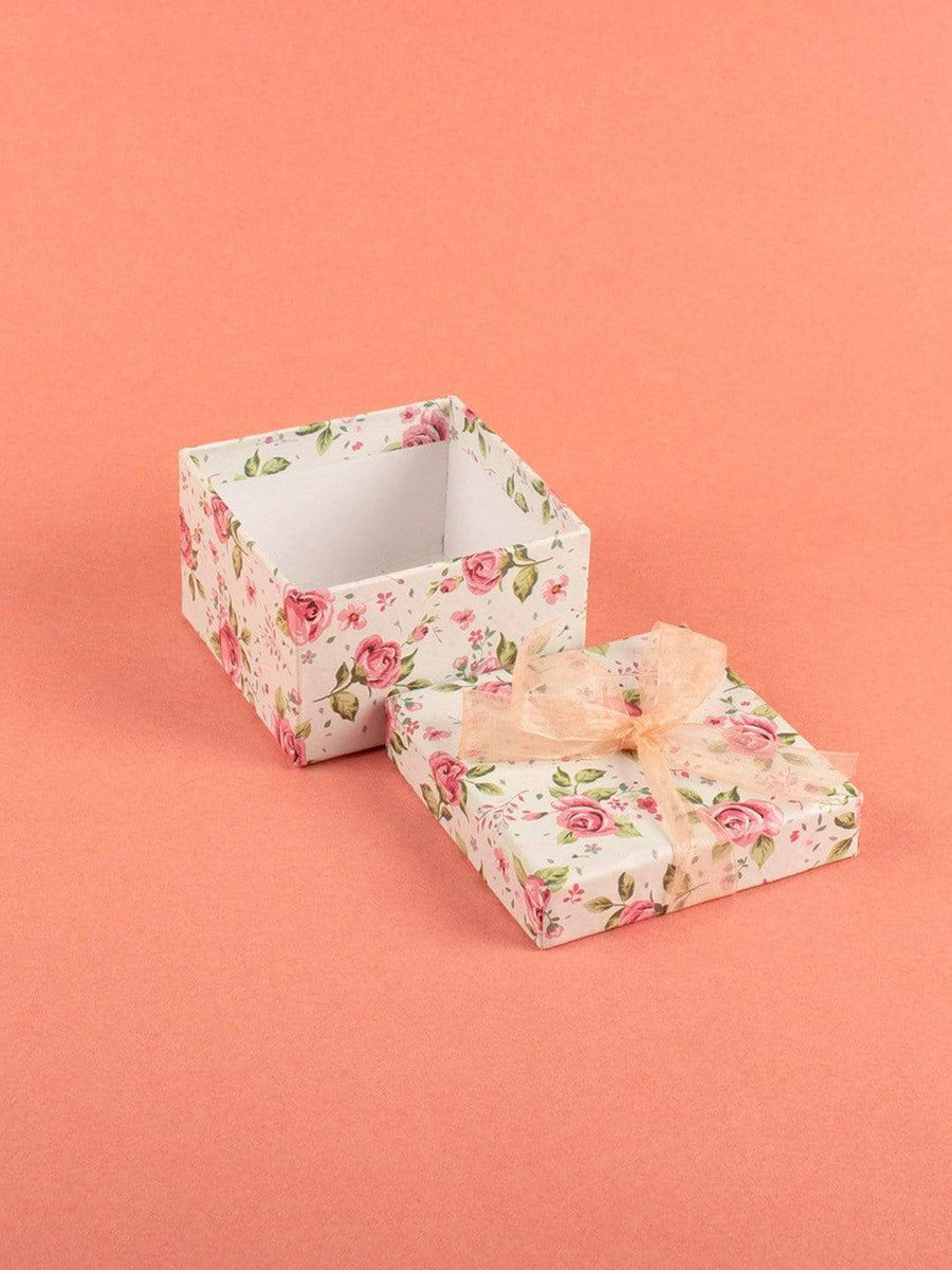 Enchanted Summer Gift Box- White- Small Square
