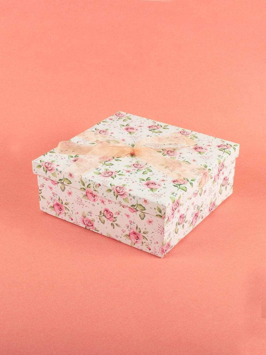 Enchanted Summer Gift Box-White-Square