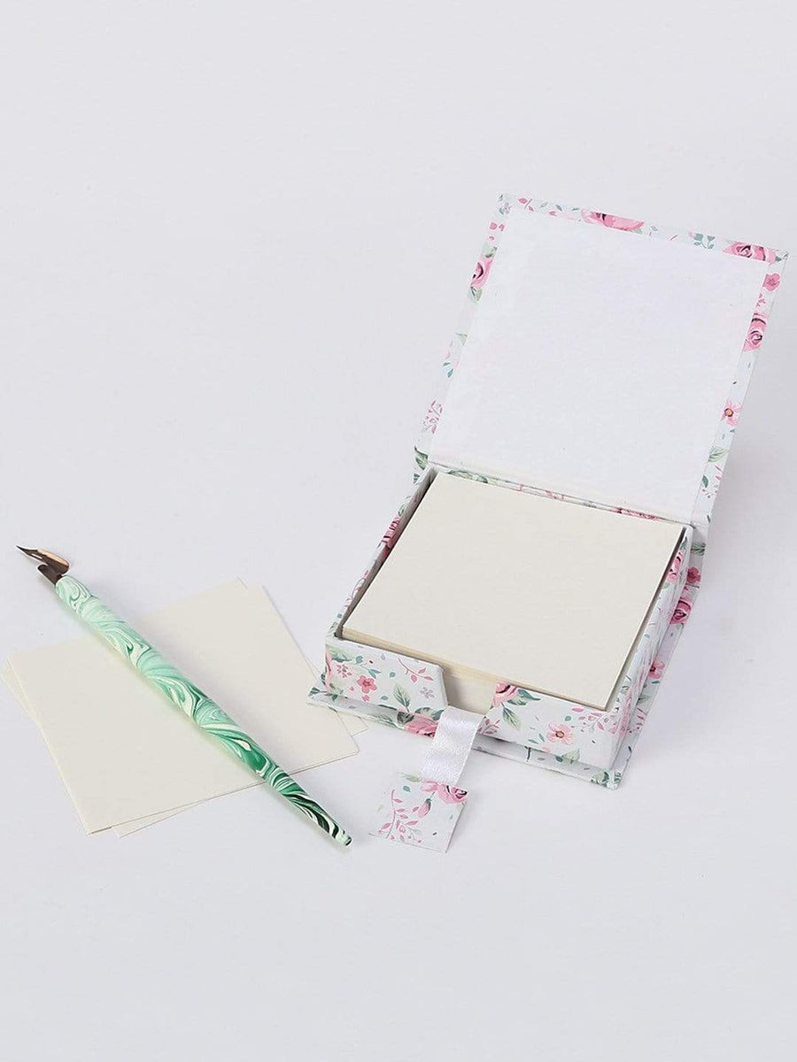 Enchanted Summer Jotters Note Set / White