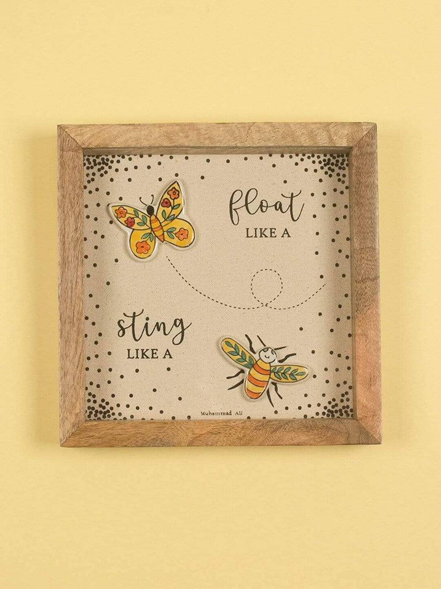 Float and Sting Shadow Box