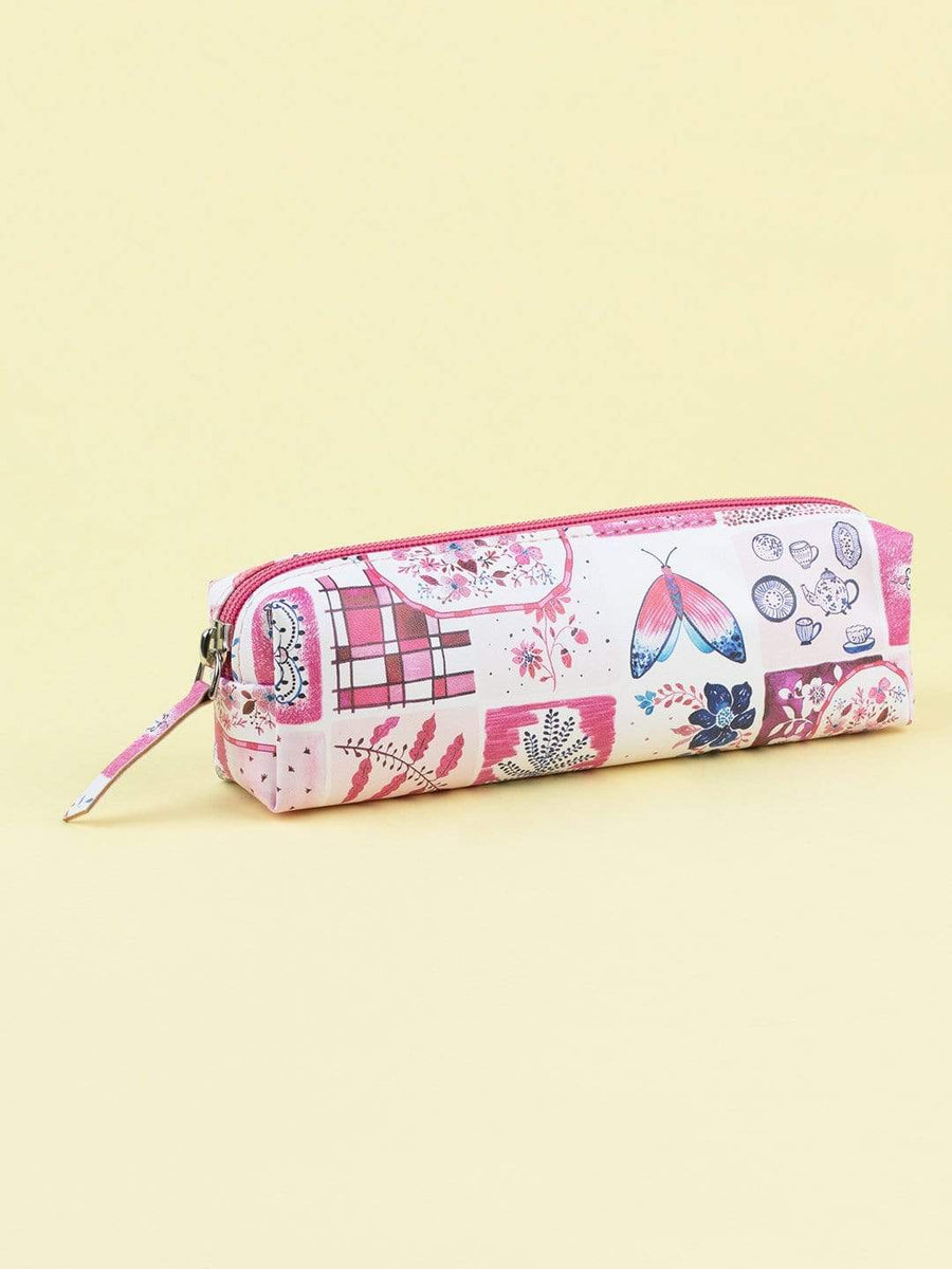 Kindred Spirits Handpainted Stationery Pouch