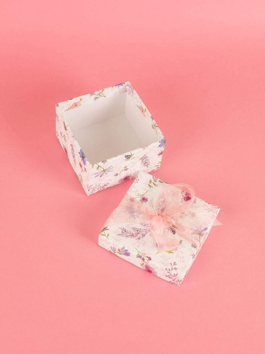 Lavender Gift Box- Small Square