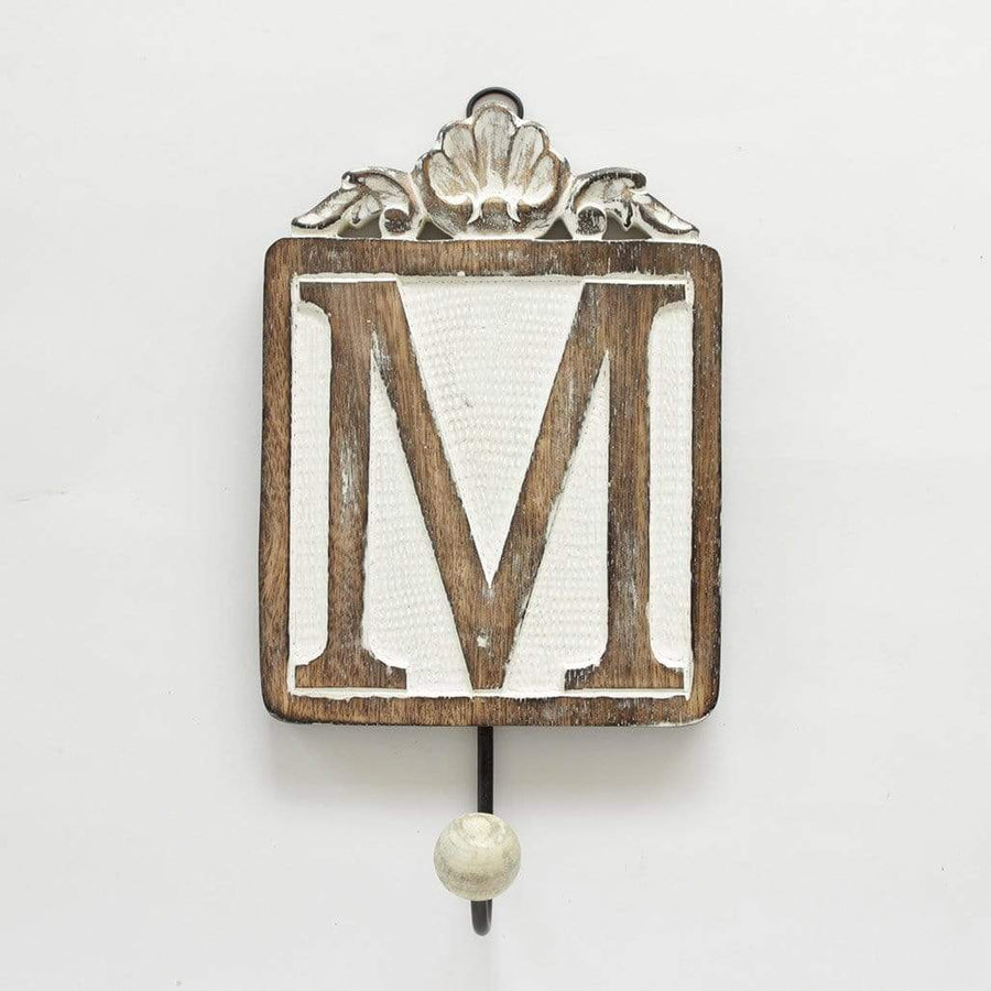 Letter Wall Hook / M