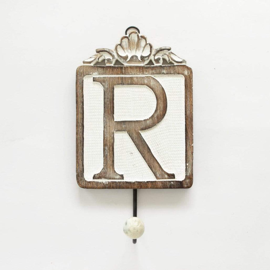 Letter Wall Hook / R