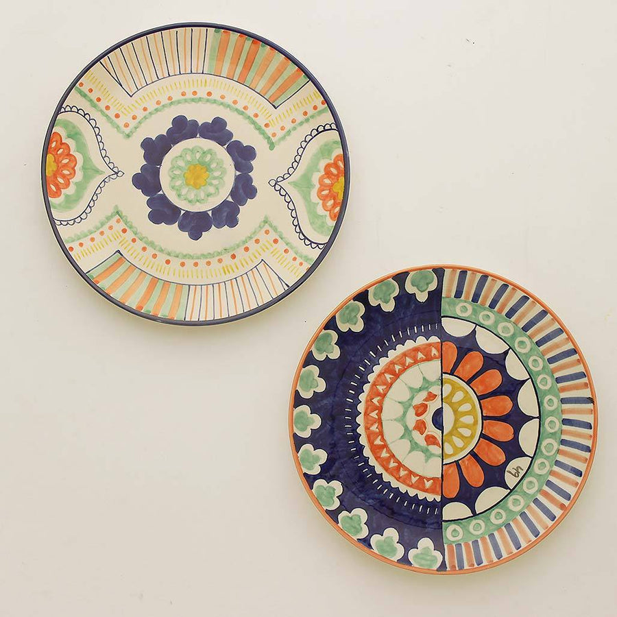 Mandala Wall Plates- Set of 2