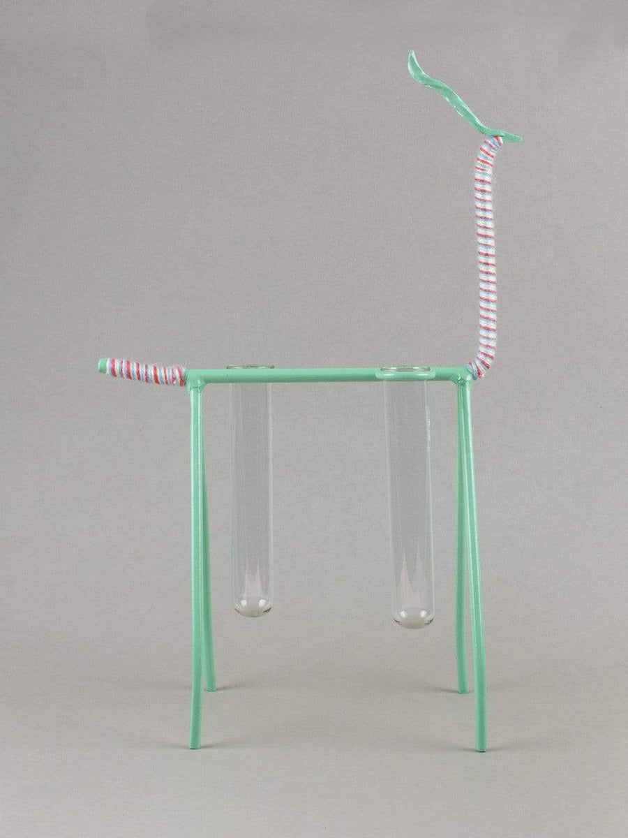 Mint Green Hello Deery Test Tube Plant Holder Large