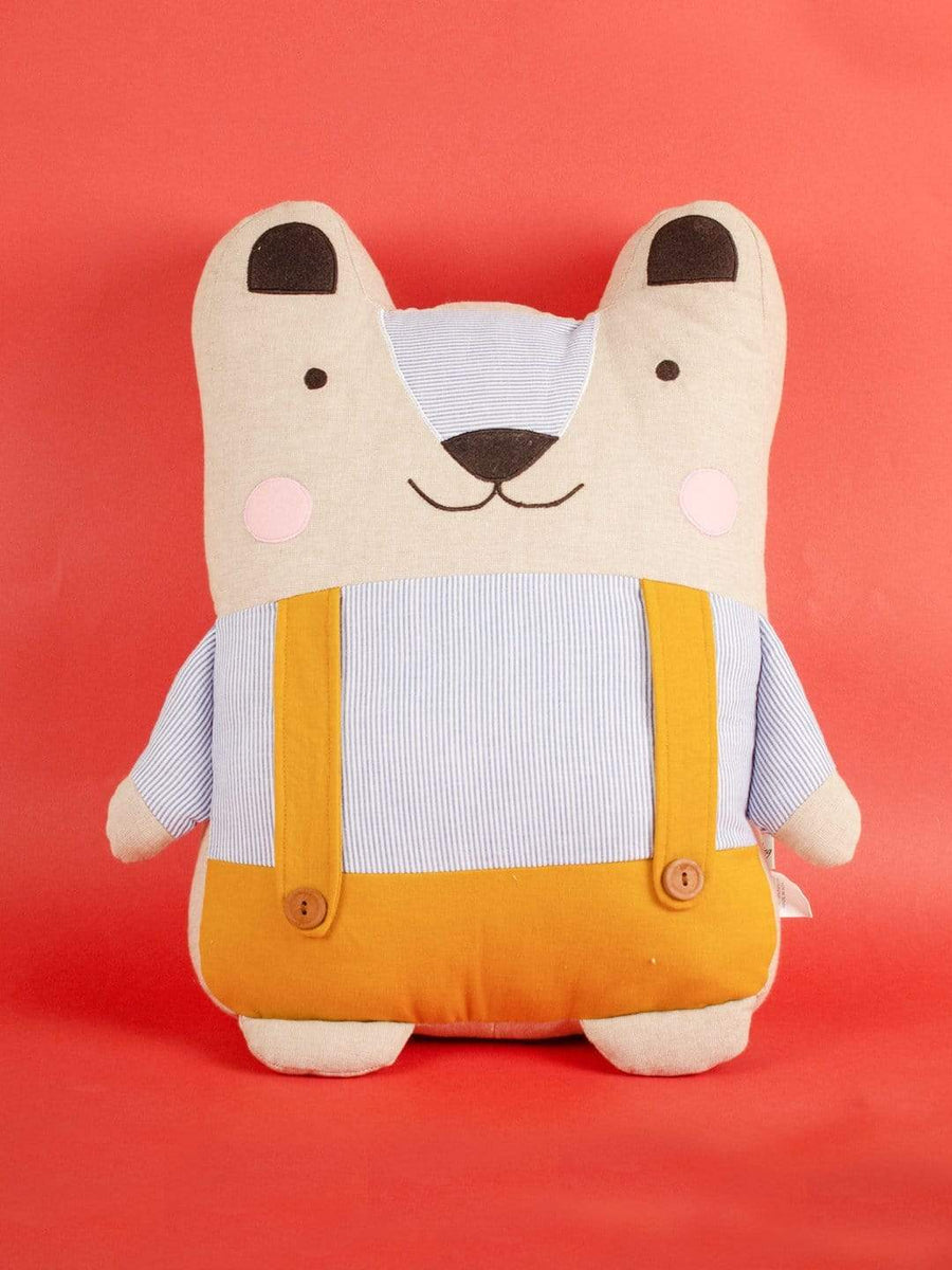 Mr.Bear Shape Cushion