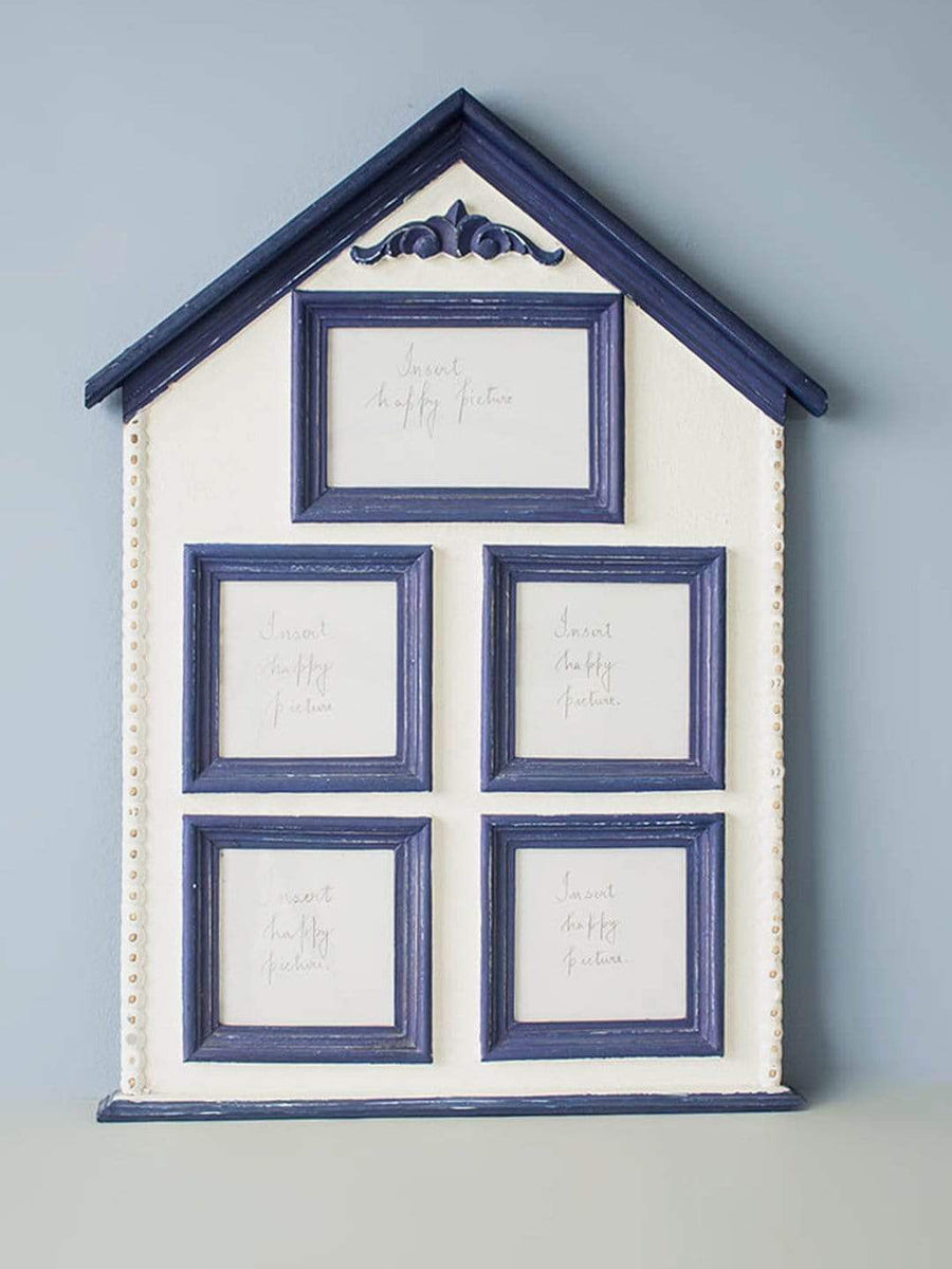Navy Memories Collage Wall Frame