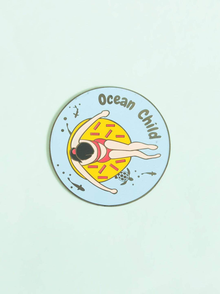 Ocean Child Fridge Magnet