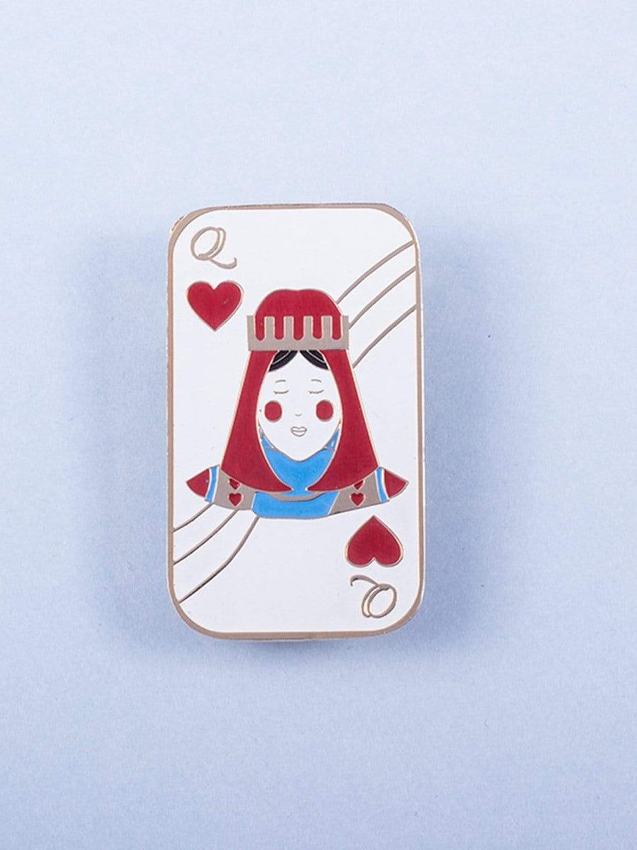 Queen of Hearts Brooch