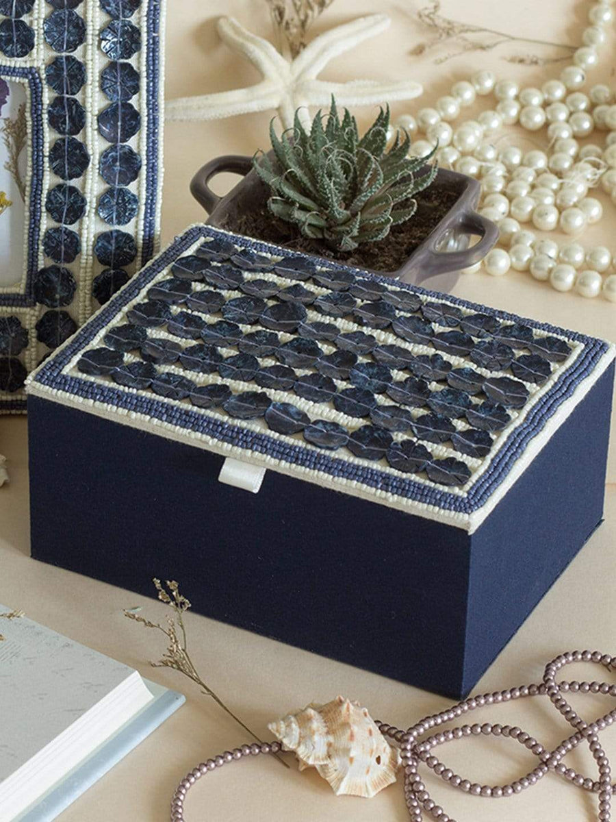 Sea Shells Jewellery Box