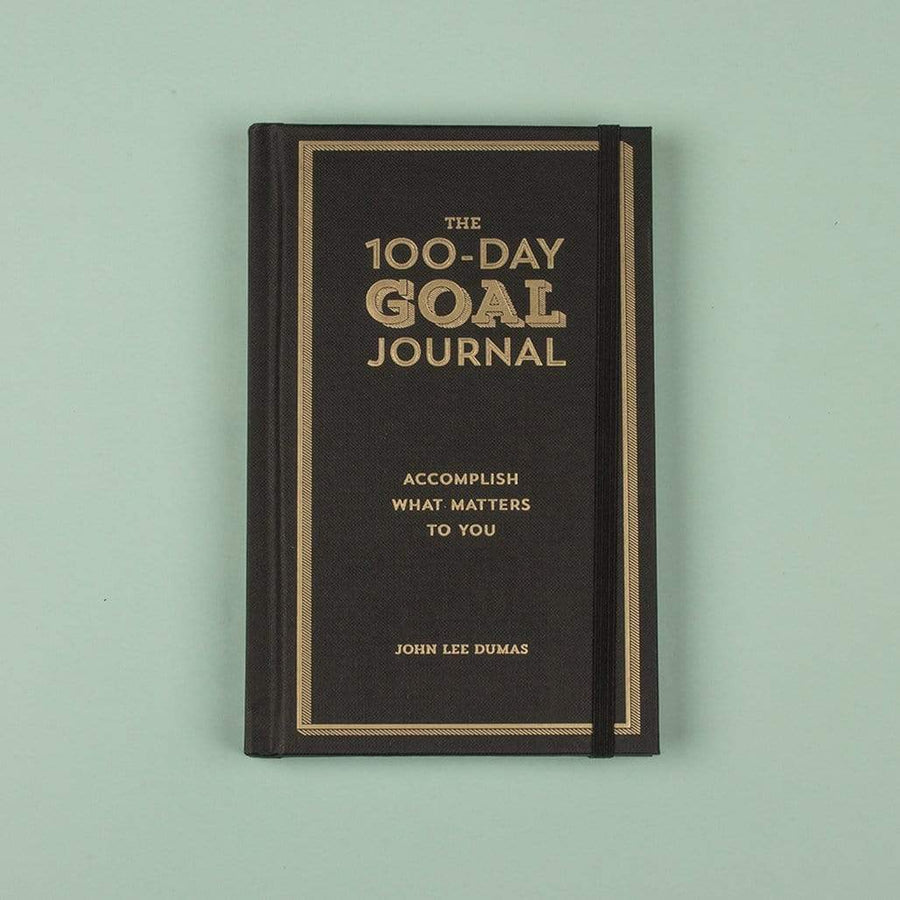 The 100-Day Goal Journal : Accomplish