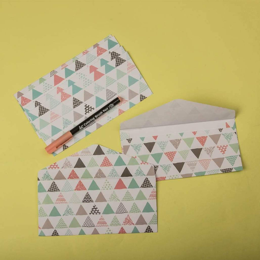 Trio Envelops - Set of 6
